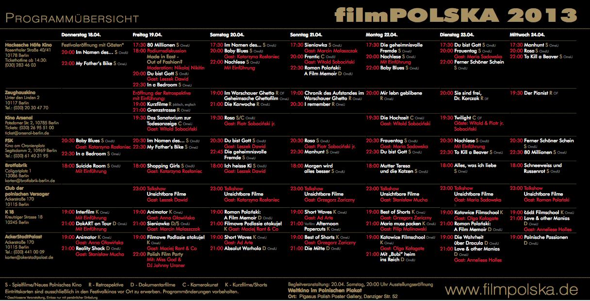Programm FilmPOLSKA